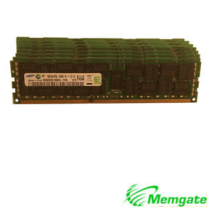 384GB (24x16GB) DDR3 PC3L-1333 ECC Reg Server Memory RAM For Dell and Hp servers