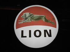 Lion Oil Lighted Sign