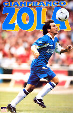 GIANFRANCO ZOLA Chelsea FC 1997 Superstar Vintage Original Action POSTER
