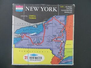 Viewmaster Reels - NEW YORK - Sawyers - includes bonus colour booklet
