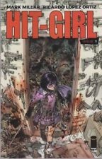 HIT-GIRL #1 COVER C 1ST. PRINT MILLAR ORTIZ  KICKASS