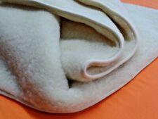 Ganzjährige Bettdecke Steppbett MERINOWOLLE 100% Lammwolle natur gesund 135 x200
