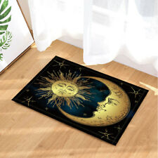 Door Mat Bathroom Rug Bedroom Carpet Bath Mats Rug Non-Slip Sun and moon