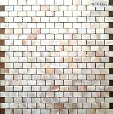 Clearance Sale 88 sheets Nature Colour  Rectangle Mother of Pearl Mosaic Tiles