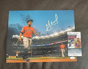 Jose Altuve Signed Autographed 11x14 Photo + JSA Coa Houston Astros