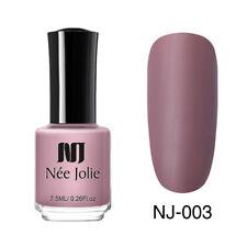NEE JOLIE Pashm Matte Series Nail Polish 7.5ml Nude Pink Purple Nail Art Varnish