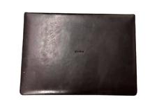 New listing Vera Wang Wedgwood Leather Flatware Storage Chest Box New