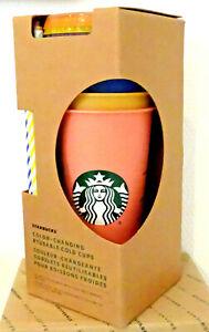 PORTOFREI 5 Starbucks Becher Wiederverwendbare Reise Color Changing Mg24oz 709ml