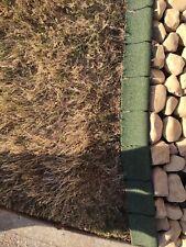 Landscape Edging Rubber Outdoor Garden No Trimming Digging EcoBorder 4ft. 4-pack