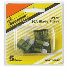 Bussmann (BP/ATC-30-RP) 30 Amp ATC Blade Fuse, Pack of 5