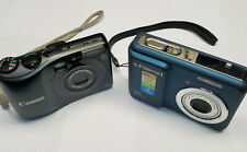 Lot of 2 used Digital Cameras. Canon PowerShot A1200, Polaroid i835