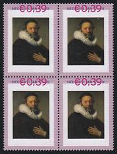 Persoonlijke zegels Rembrandt BLOK van 4 2420-A-4 SCHAARS Johannes
