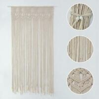 Window Door Curtain Macrame Boho Wall Hanging Blanket Wedding Party Decor