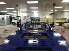 18 Feet Long 2 Towers Heavy Duty Auto Body Frame Machine Free Tool Cart Set