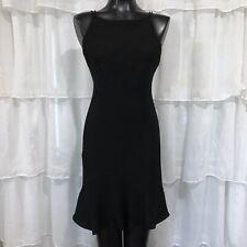 Size 6 - DRESSBARN High Neck Little Black Dress LBD