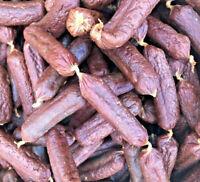 ANTOS VENISON SAUSAGES - 100g 500g 1kg 3kg Natural Dried Meat Chews bp Dog Treat