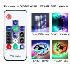 RGB Light Pixels Controller 300 kinds mode for WS2812B 2811 Strip Module DC5-24V