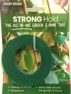 Neat Ideas Strong Hold Garden & Home Hook & Loop Tape 3 Meters Plant Ties