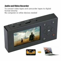 Analog Audio Video to Digital MP3 MP4 AV Capture Recorder Converter VHS VCR DVD
