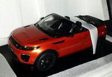 TrueScale 1:18 Land Rover Range Rover Evoque Cabrio Phoenix orange nieuw