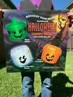 LOT of MCDONALDS HALLOWEEN PAILS HAPPY MEAL TRANSLITE SIGN 1990 1994 90s Buckets