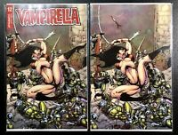 🚨🦇🔥 VAMPIRELLA #12 SET OF 2 CASTRO FOC Variants / Bonus & VIRGIN NM