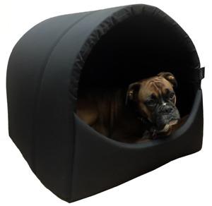 Omega Hooded, Cave, Igloo, Extra Large Dog Bed, Extra Warm, 2 Sizes - Free P&P
