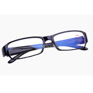 Near Sight Glasses Mens Ladies Plastic Frame Short Sight Lens -1.0 -1.5 to -6.0