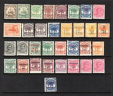 SAMOA 1880's TO 1900 LIGHTLY & MOUNTED MINT RANGE x 33 STAMPS SOME IMPERFECTIONS