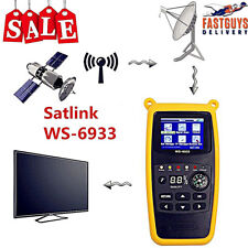 SATLINK WS-6933 Digital Satellite Signal Finder Meter DVB-S/S2 FTA for SAT Dish