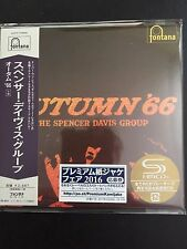 Autumn'66-The Spencer Davis Group SHM MINI LP Style CD NUOVO Giappone UICY - 77895