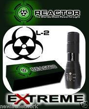 BRAND NEW REACTOR EXTREME Mil Spec G700 X800 Flashlight *FREE SHIP USA SELLER*