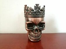 1PC Ghost Head Design 2 Piece Herb Spice Tobacco Grinder Crusher New
