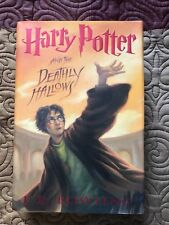 Harry Potter and the Deathly Hallows 1st Edition Hardcover