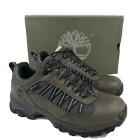 Timberland  Men's Mt. Maddsen Lite Low Waterproof Hiking Shoes A1RP8 Gray 9
