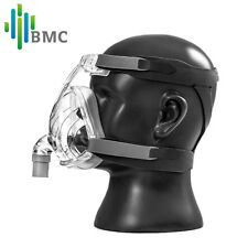 BMC F2 Full Face CPAP Mask inc. Headgear 3 Sizes (S, M,L )Fits All CPAP Machine