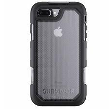 GRIFFIN SURVIVOR SUMMIT CASE FOR IPHONE 8 PLUS/7 PLUS/6 PLUS - BLACK/CLEAR