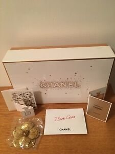Chanel Limited Edition Gift Box And Samples