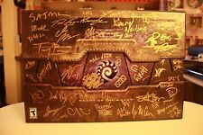 Autographed StarCraft II 2 Heart of the Swarm Collector's Edition