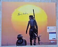 Diasy Ridley Star Wars Force Awakens 16x20 Signed Photo PSA Steiner Certified #2