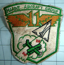 SKYHAWKS - MAG 11 - Patch - Marine Aircraft Group 11 - Vietnam War - W