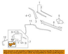 Hummer GM OEM 06-10 H3 Wiper-Rear Washer Pump 10389565