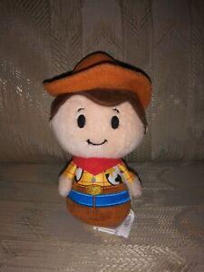 "Hallmark Itty Bittys Disney Toy Story Woody Plush 5"" 2014 Sheriff Cowboy Stuffed"