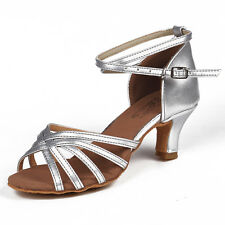 Size34-41 5cm Heels Women's Ballroom Latin Tango Dance Shoes heeled Salsa 213