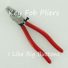 Key Fob Hardware Setting/Crimping Pliers Ribbon/Fabric Wristlet Assembly Tool
