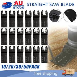 10-50x Oscillating Multi Tool Blade Saw Blades Wood Metal Cutter For Dewalt Fein