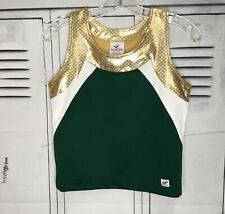 Real Cheerleading Uniform Vest Plain Sz 36�Chest