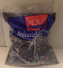 Aqua Culture Black/With Mixture Chips Aquarium Gravel 5 Lb