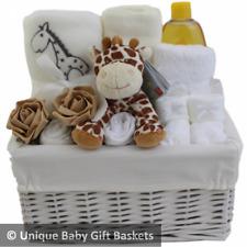Baby Giraffe Gift Basket - Ideal for Baby Showers