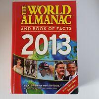 World Almanac Ser.: The World Almanac and Book of Facts 2013 by World Almanac...